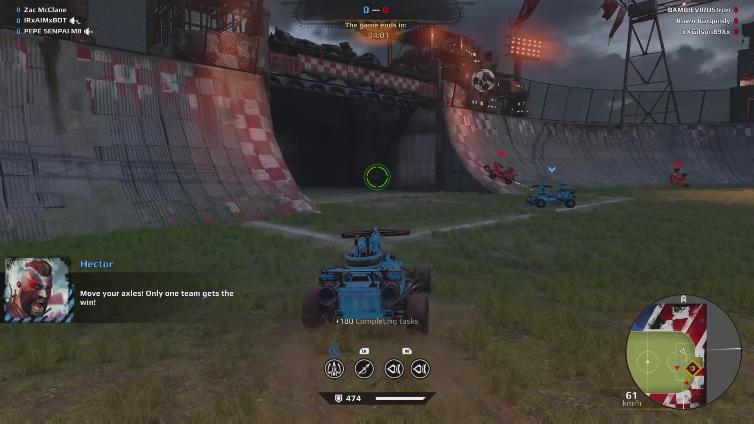 Zac McClane playing Crossout