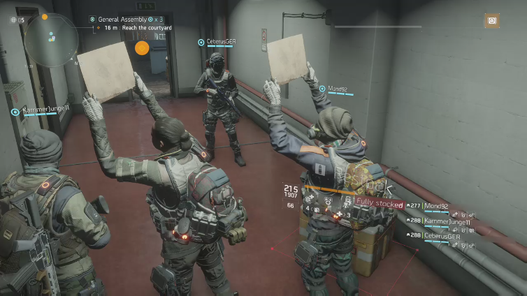Rogue Ms playing Tom Clancy's The Division